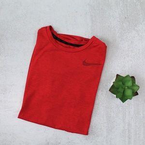 Nike Dri-Fit Men's Red Short Sleeve Athletic Shirt